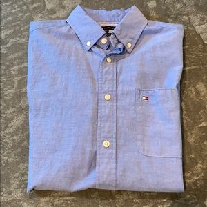 Tommy Hilfiger Custom-Fit Shortsleeved Button Down